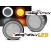 Jeep Wrangler JK (07-17) LED pagriezienu rādītāji + led gabarīti
