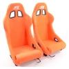 """Krēsls """"San Francisco"""", oranžs + sliedes, labais + kreisais"""