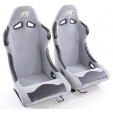 """Krēsls """"Basic"""", pelēks + sliedes, labais + kreisais"""