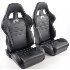 """Krēsls """"Sacramento"""", melns, regulējams + sliedes, labais + kreisais"""
