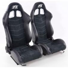 """Krēsls """"Seattle"""", melns, regulējams + sliedes, labais + kreisais"""