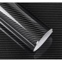Karbona 5D pašlīmējošā plēve melna 1.5x0.5m