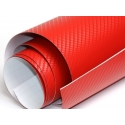 Karbona 3D pašlīmējošā plēve sarkana, 0.5x1.27m