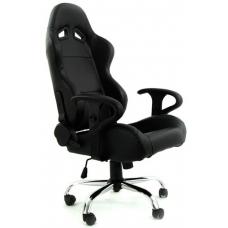 """Biroja krēsls """"A1"""", ādas imitācijas, melns"""
