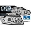 Audi A4 B5 (94-99) priekšējie lukturi, enģeļ acis, CCFL, hromēti