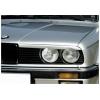 BMW E30 priekšējo lukturu uzlikas, melnas