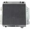 Ūdens radiators Jeep Wrangler YJ/TJ 2.4L-4.2L (87-06)
