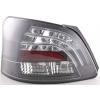 Toyota Yaris Vios (08-...) aizmugurējie LED lukturi, melni