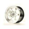 Alumīnija diski Japan Racing JR12 15x7,5 ET26 4x100/114 HyperSilver
