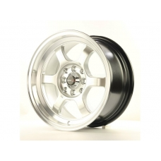 Alumīnija diski Japan Racing JR12 15x7,5 ET26 4x100/114 HyperSilver