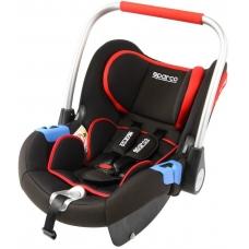 """Krēsls """"SPARCO F300i ISOFIX"""",melns / sarkans (0-13kg)"""