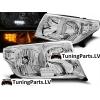 Toyota Land Cruiser FJ200 (07-12) priekšējie LED lukturi, hromēti, LED pagriezienu rādītāji