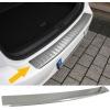 Dacia Duster (10-...) aizmugures bampera aizsargs, sudraba
