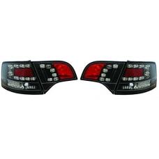 Audi A4 B7 (04-08) avanta LED aizmugurējie lukturi, melni