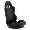 """Krēsls """"Monza"""", melns, regulējams + sliedes"""