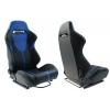 "Krēsls ""R-LOOK II"", melns / zils"