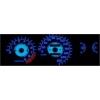 Honda Civic (92-95) plazmas spidometri 0-220km/h, balti