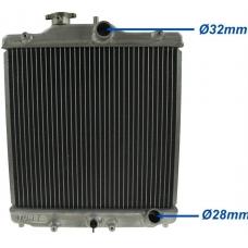 Ūdens radiators Honda Civic (92-00)