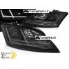 Audi TT 8J (06-10) priekšējie lukturi, LED, dinamisks pagriezienu rādītajs, melni