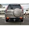 Honda CRV (02-06) aizmugurējo lukturu uzlikas, hromētas