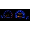 Hyundai S Coupe plazmas spidometri 0-220km/h, balti