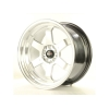 Alumīnija diski Japan Racing JR12 17x9 ET25 5x100/114 Hyper Silver