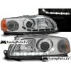 Volvo S60 (00-04); V70 (00-04) priekšējie LED Dayline lukturi, hromēti