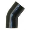 45 grādu silikona līkums, ieeja/izeja 76mm