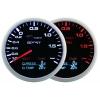 Mērītajs 60mm 4/1 Turbo, Voltmetrs, Eļļas spiediens, Eļļas temperatūra