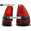 Toyota Land Cruiser FJ120 (03-09) aizmugurējie LED lukturi, tonēti