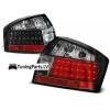Audi A4 B6 (01-04) aizmugurējie LED lukturi, melni