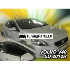 Volvo V40 (12-...) logu deflektori, 4 gab.
