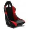 Krēsls Monza, melns/sarkans, + sliedes