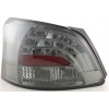 Toyota Yaris Vios (08-...) aizmugurējie LED lukturi, tonēti