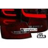 Audi A6 C6 (04-08) LED aizmugurējie lukturi, tonēti, 7 PIN