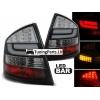 Skoda Octavia (04-12) Sedana LED aizmugurējie lukturi, melni