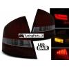 Skoda Octavia (04-12) Sedana LED aizmugurējie lukturi, sarkani / tonēti