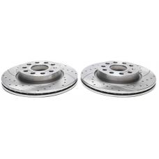 Audi / Seat / Skoda / VW priekšējie bremžu diski sporta