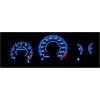 Honda Civic (96-00) plazmas spidometri 0-220km/h, balti