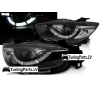 Mazda CX5 (11-15) priekšējie lukturi, LED dayline, DRL, melni, xenona