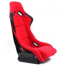 Krēsls EVO, melns/sarkans, + sliedes