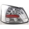 Toyota Yaris Vios (08-...) aizmugurējie LED lukturi, hromēti