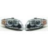Audi A4 B7 (04-07) priekšējie lukturi, melni, Bi-xenona