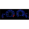 Peugeot 206 plazmas spidometri 10-210km/h, 7000 RPM, balti
