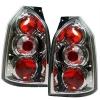Hyundai Tucson (04-10) aizmugurējie lukturi, hromēti