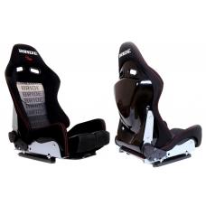 """Krēsls """"LOW MAX K608"""", melns / pelēks Bride"""