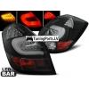 Skoda Fabia (07-14) aizmugurējie LED lukturi, melni