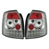 Audi A4 B6 (01-04) avanta aizmugurējie LED lukturi, hromēti