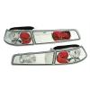 Alfa Romeo 145 (96-98) aizmugurējie lukturi, hromēti