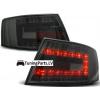 Audi A6 C6 (04-08) LED aizmugurējie lukturi, tonēti, 6 PIN